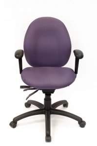 front view portfolio image of merit task chair, task 100b