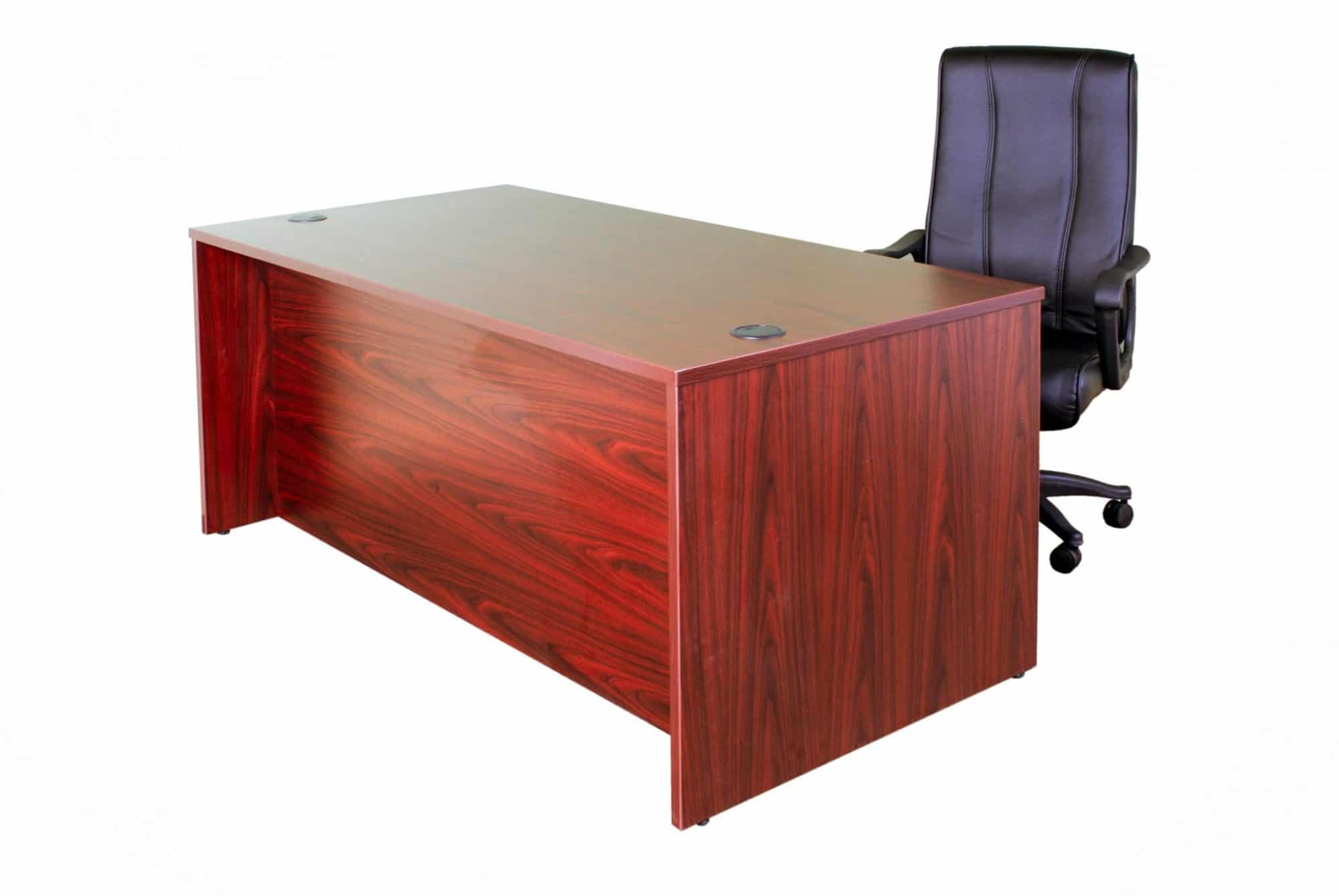 image for desk gallery portfolio, single pedestal desk
