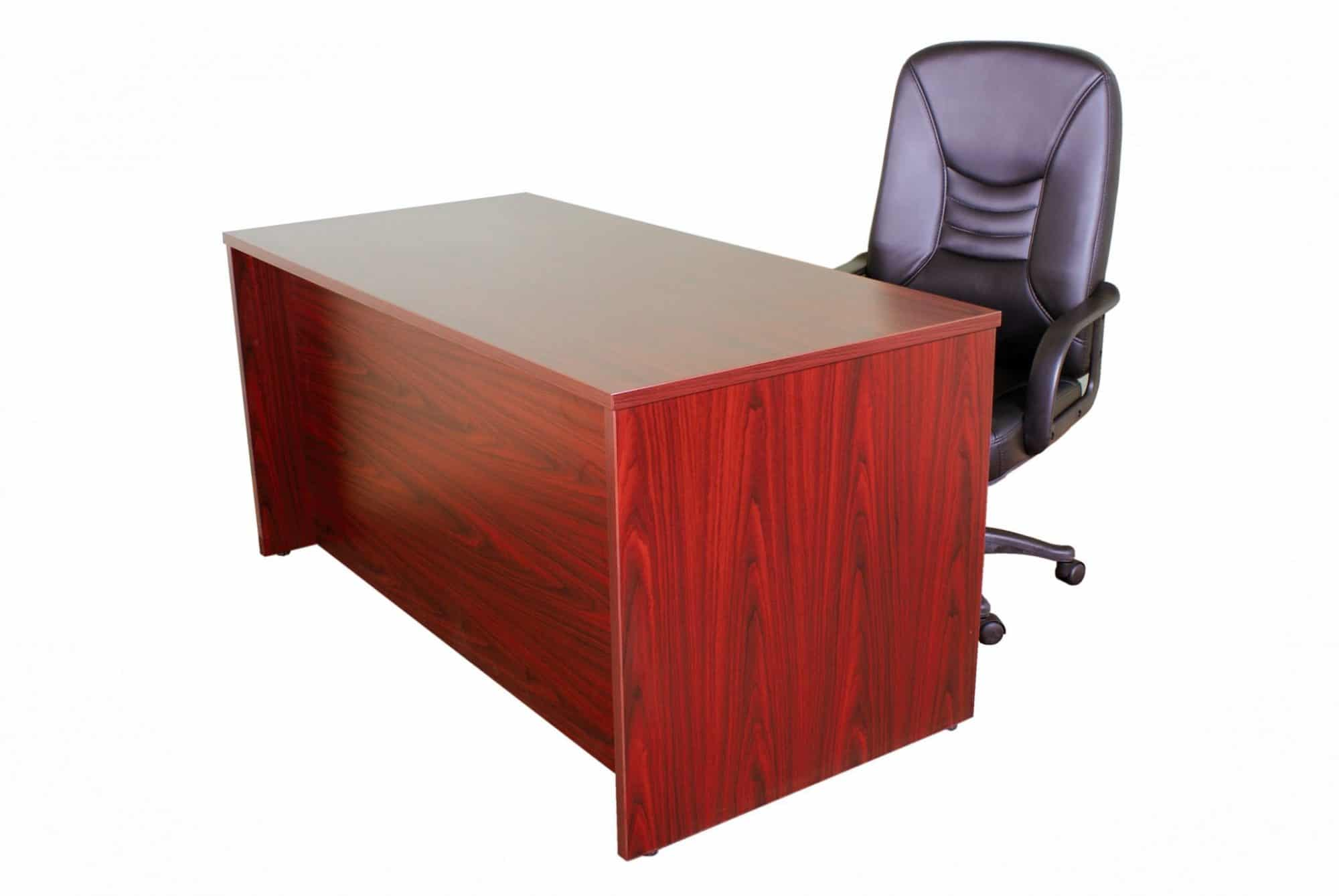 single desk and and executive chair
