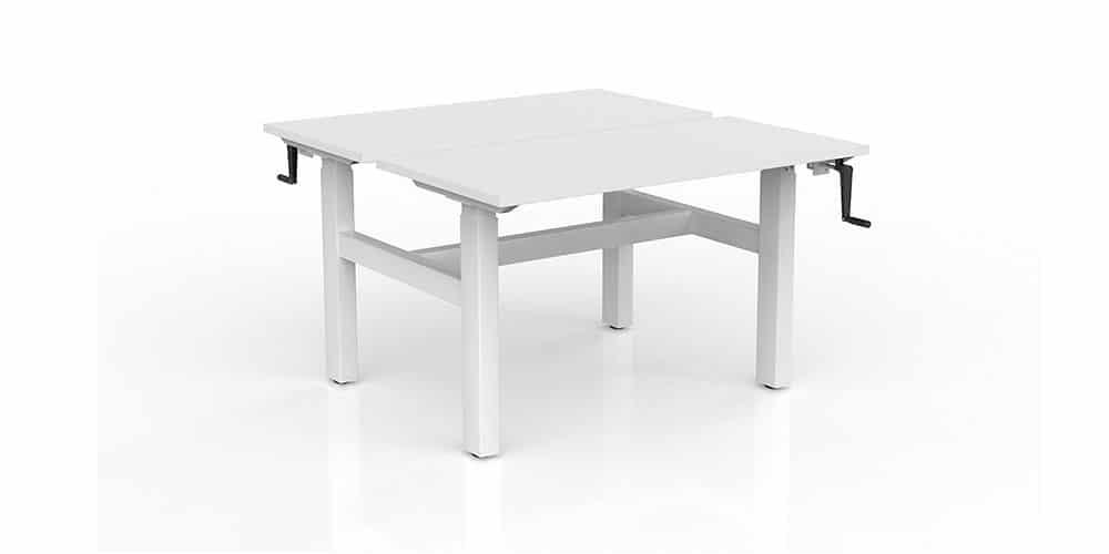 Agile Winder Back-to-Back Sit/Stand Desk